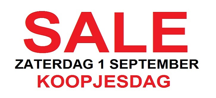 Slider_SALE_koopjesdag2 Verwoerd Watersport
